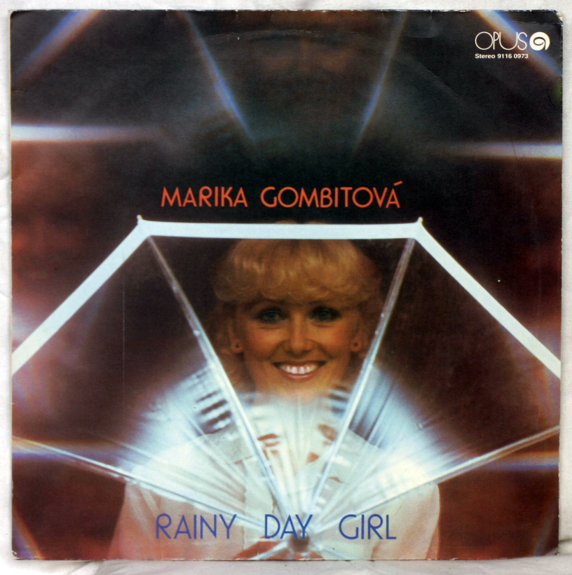 vinyl LP MARIKA GOMBITOVÁ Rainy Day Girl