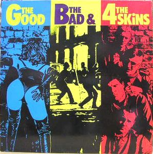vinyl LP THE 4 SKINS The Good, The Bad & The 4 Skins