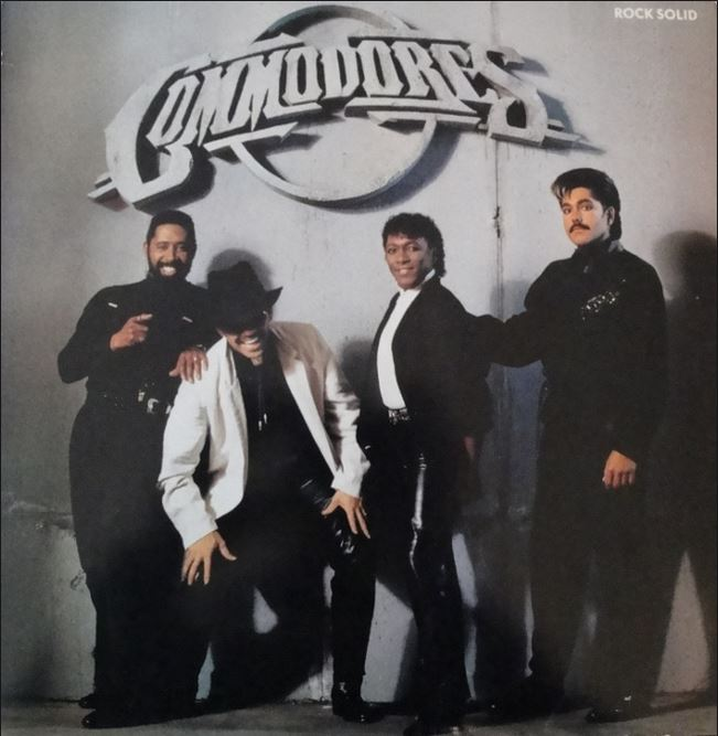 vinyl LP COMMODORES Rock Solid