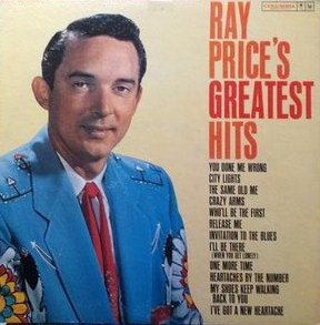 vinyl LP RAY PRICE Ray Price's Greatest Hits