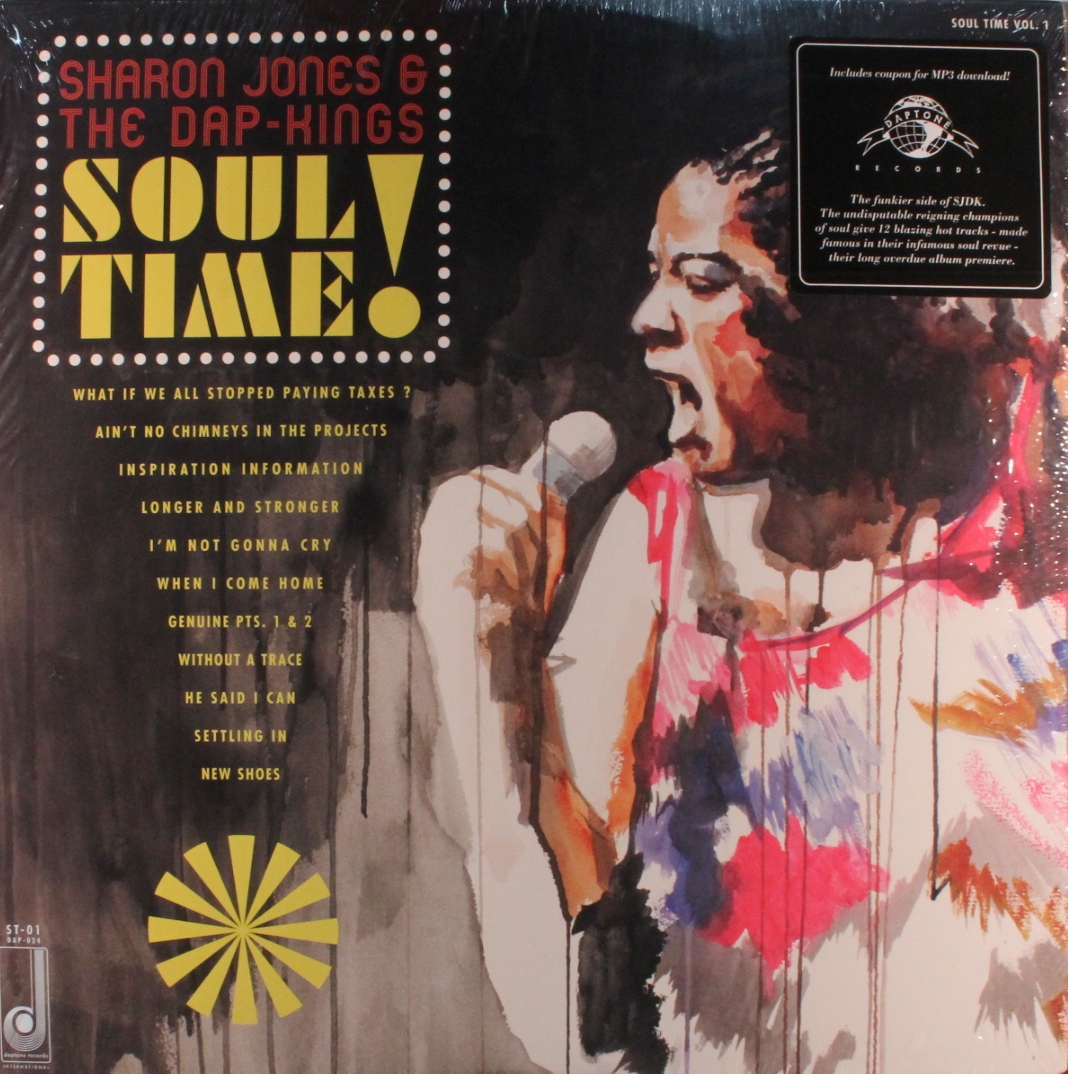 vinyl LP SHARON JONES and THE DAP-KINGS  Soul Time!