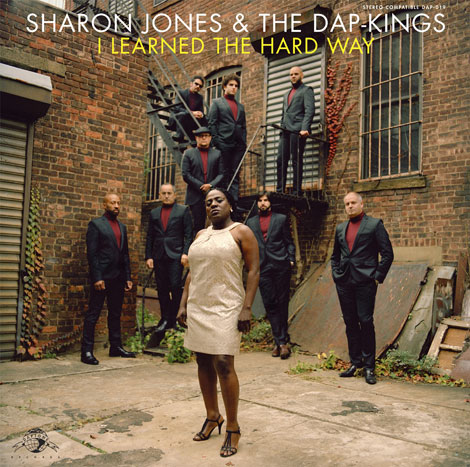 vinyl LP SHARON JONES and THE DAP-KINGS I Learned The Hard Way