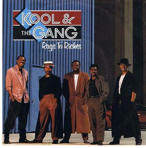 "vinyl 7""SP KOOL & THE GANG Rags To Riches"
