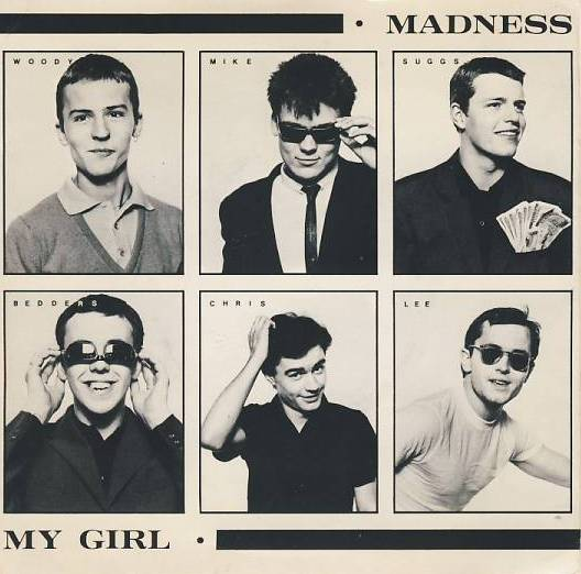 "vinyl 7""SP MADNESS My Girl"