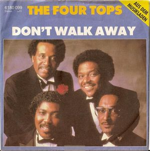 "vinyl 7""SP THE FOUR TOPS Don´t Walk Away"