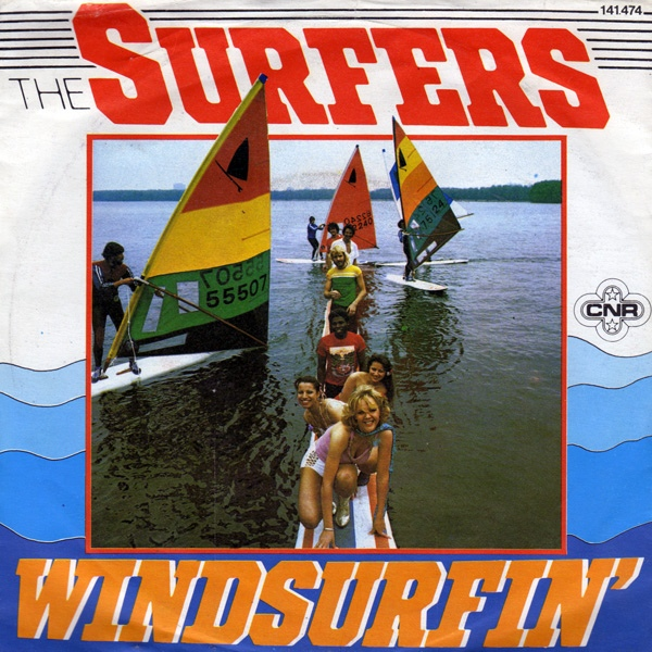 "vinyl 7""SP THE SURFERS Windsurfin´"