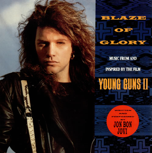 "vinyl 7""SP JON BON JOVI Blaze Of Glory"