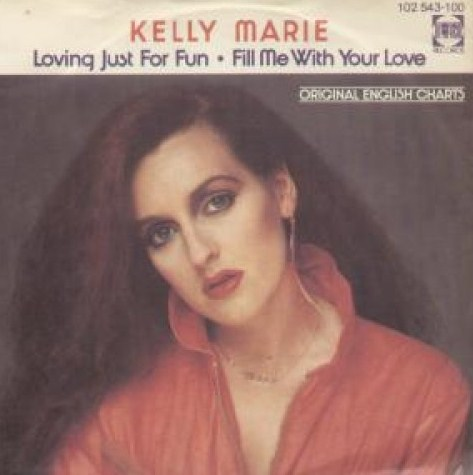 "vinyl 7""SP KELLY MARIE Loving Just For Fun"
