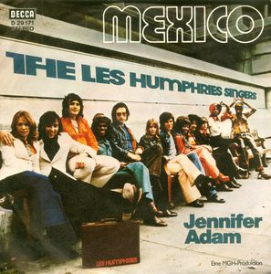 "vinyl 7""SP LES HUMPHRIES SINGERS Mexico"