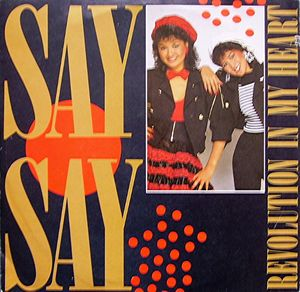 "vinyl 7""SP SAY SAY Revolution In My Heart"