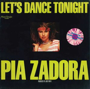 "vinyl 7""SP PIA ZADORA Let's Dance Tonight"