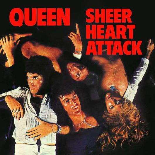 vinyl LP QUEEN Sheer Heart Attack (2015)