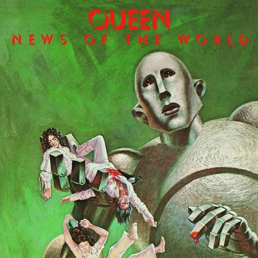 vinyl LP QUEEN News Of The World (2015)