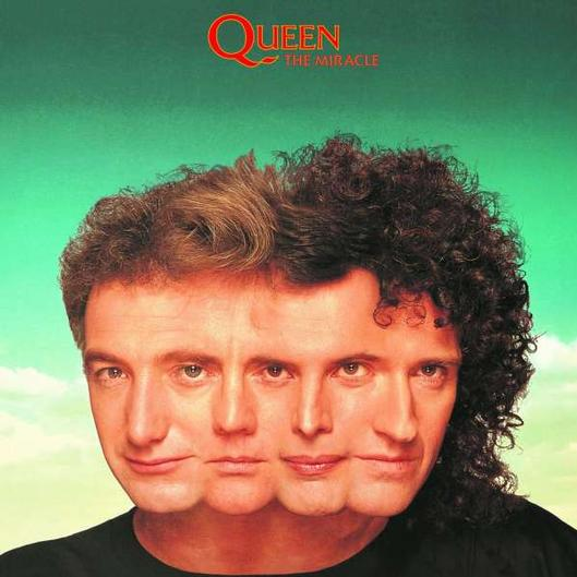 vinyl LP QUEEN The Miracle (2015)