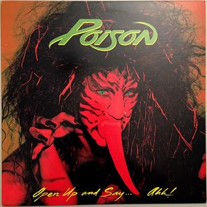 vinyl LP POISON Open Up And Say ...Ahh!