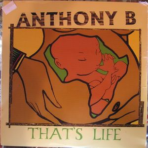 vinyl LP ANTHONY B S That´s Life