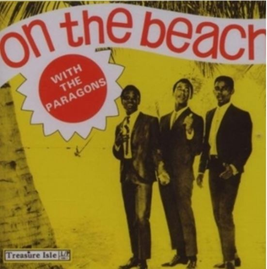 vinyl LP THE PARAGONS On The Beach