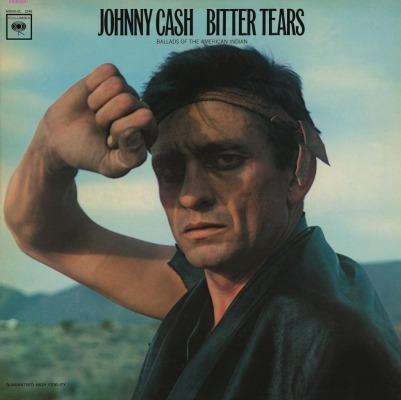 vinyl LP JOHNNY CASH Bitter Tears