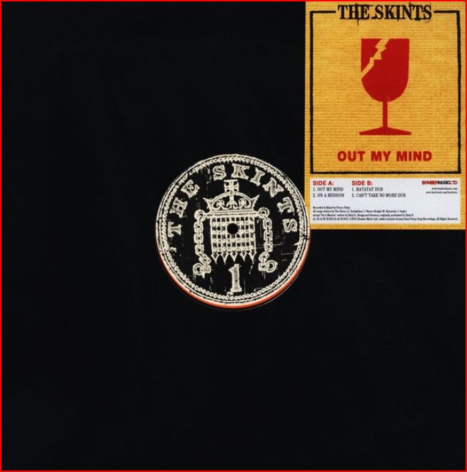 "vinyl 12""EP THE SKINTS Out Of My Mind"