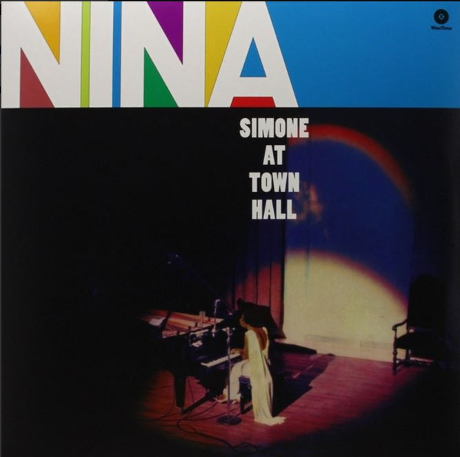 vinyl LP NINA SIMONE At Town Hall