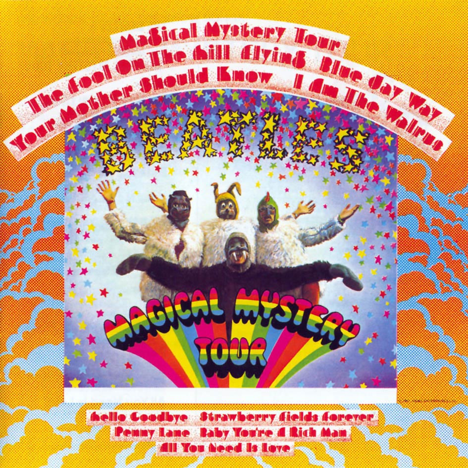 vinyl LP THE BEATLES Magical Mystery Tour