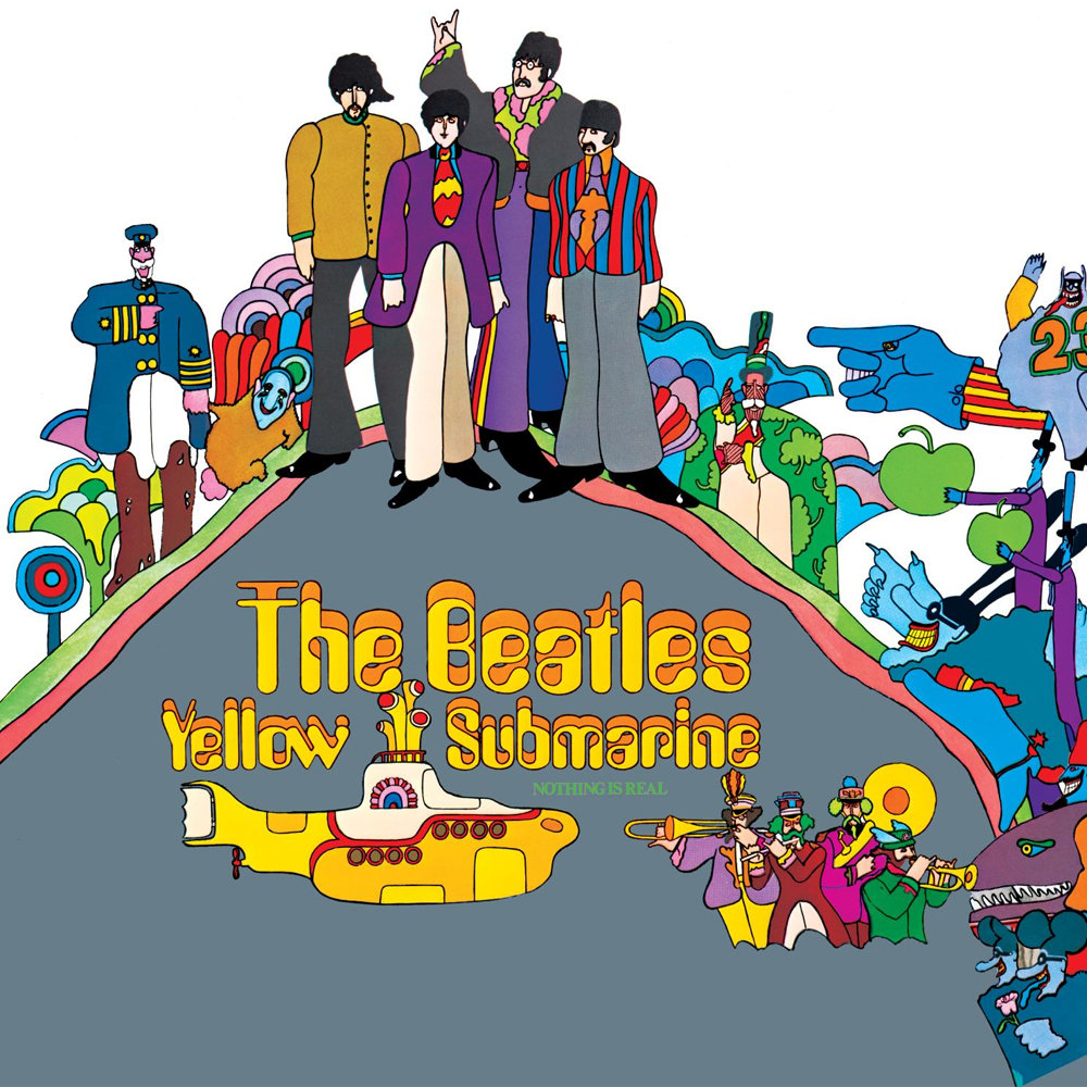 vinyl LP THE BEATLES Yellow Submarine