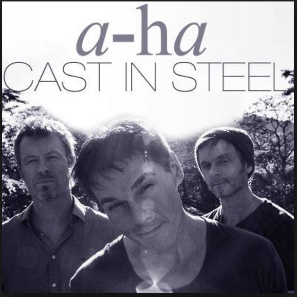 vinyl LP A-HA Cast In Steel
