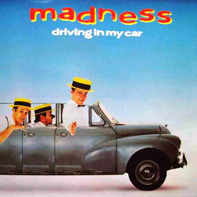 "vinyl 12""maxi SP MADNESS - Driving In My Car"