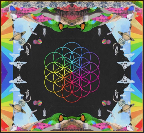 vinyl LP COLDPLAY A HEAD FULL OF DREAMS