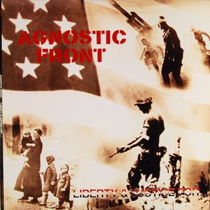 vinyl LP AGNOSTIC FRONT Liberty & Justice for...