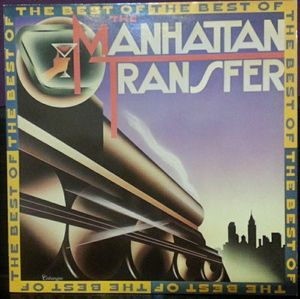 vinyl LP THE MANHATTAN TRANSFER The Best Of