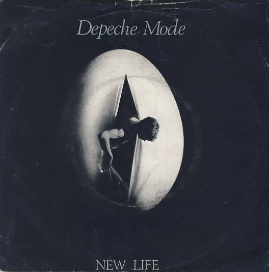 "vinyl 7""SP DEPECHE MODE - New Life"
