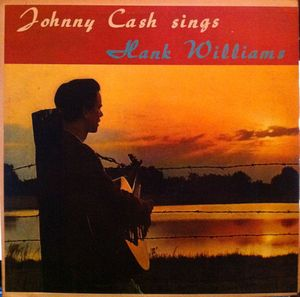 vinyl LP JOHNY CASH Johnny Cash Sings Hank Williams