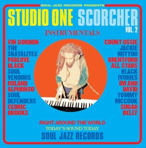 vinyl LP STUDIO ONE Scorcher Vol. 2