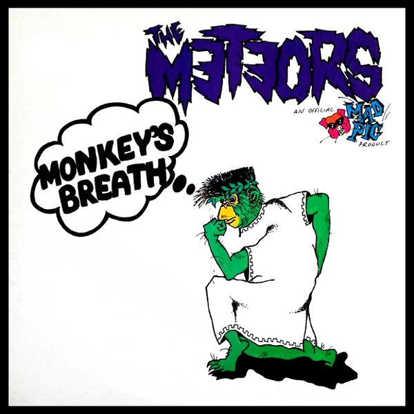 vinyl LP METEORS Monkey's Breath