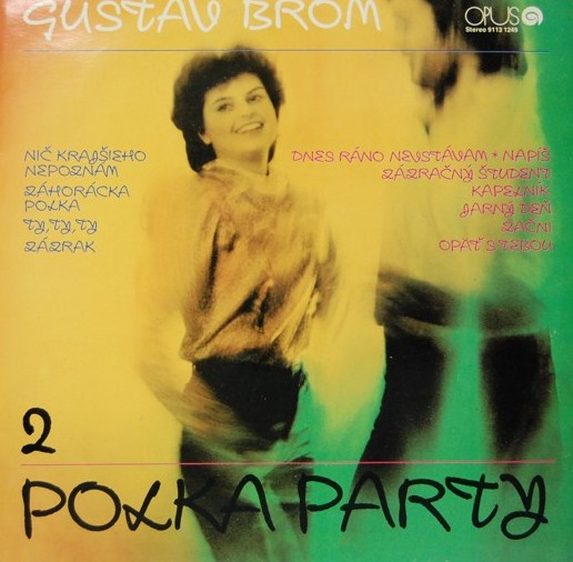 vinyl LP GUSTAV BROM 2 Polka Party