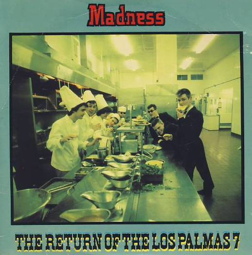"vinyl 7""SP MADNESS - The return of the Los Palmas 7"