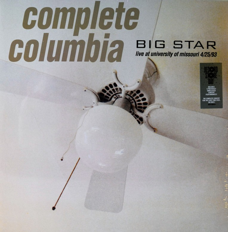 vinyl 2LP BIG STAR Complete Columbia (Live at University Od Missouri 4/25/93)