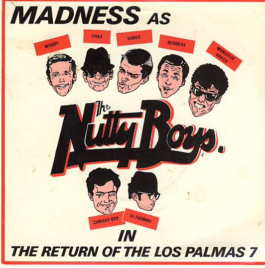 "vinyl 7""SP MADNESS - The return of the Los Palmas 7/rozdielny obal"