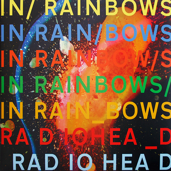 vinyl LP RADIOHEAD In Rainbows