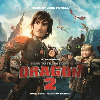 vinyl 2LP How To Train Your Dragon II. (soundtrack)