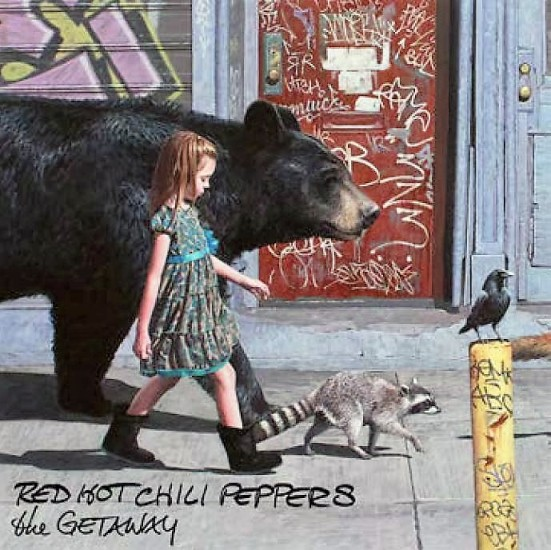 vinyl 2LP RED HOT CHILI PEPPERS The Getaway