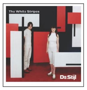 vinyl LP WHITE STRIPES De Stijl