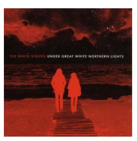 vinyl 2LP WHITE STRIPES Under Great White Northern Lights
