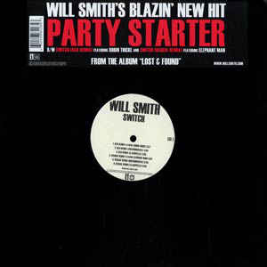 "vinyl 12""maxi SP WILL SMITH Party Starter/Switch"