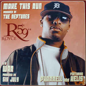 "vinyl 12""maxi SP ROYCE DA 5´9"" Make This Run"