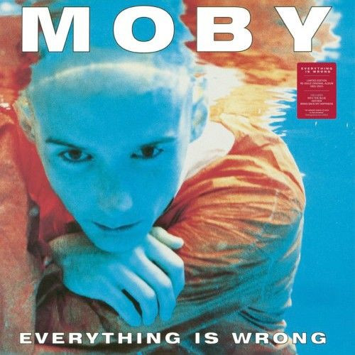 vinyl LP MOBY Everything is Wrong