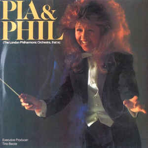 vinyl LP PIA ZADORA With The London Philharmonic Orchestra Pia & Phil