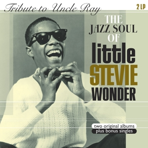 vinyl 2LP STEVIE WONDER Tribute To Uncle Ray/The Jazz Soul Of Little Stevie W.