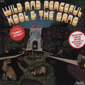 vinyl LP KOOL & THE GANG Wild & Peaceful